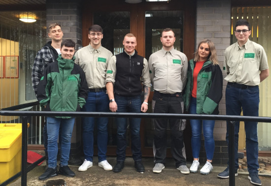 Forestry apprentices