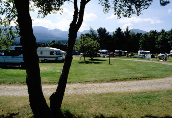 Campsite at Glenmore