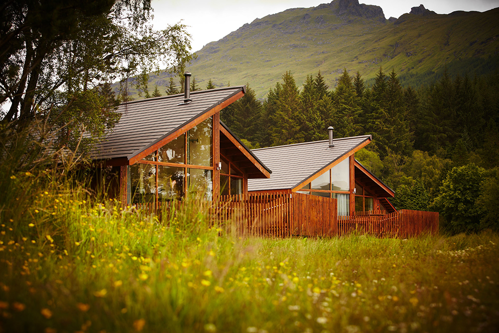 Golden Oak cabin, Forest Holidays, Argyll