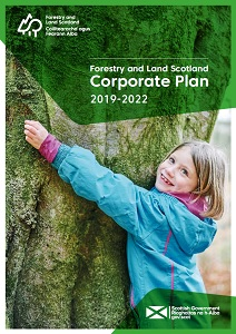 Front cover of the Corporate Plan document