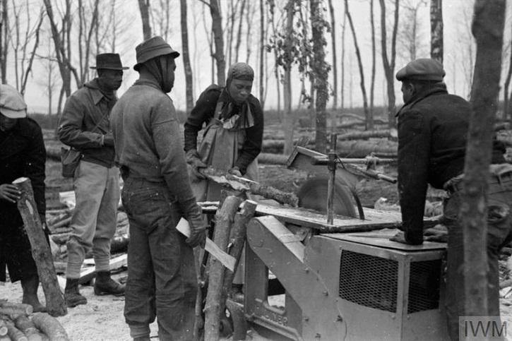Workers of the British Honduran Forestry Unit
