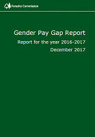 Cover of Forestry Commission's 2017 Gender Pay Gap Report