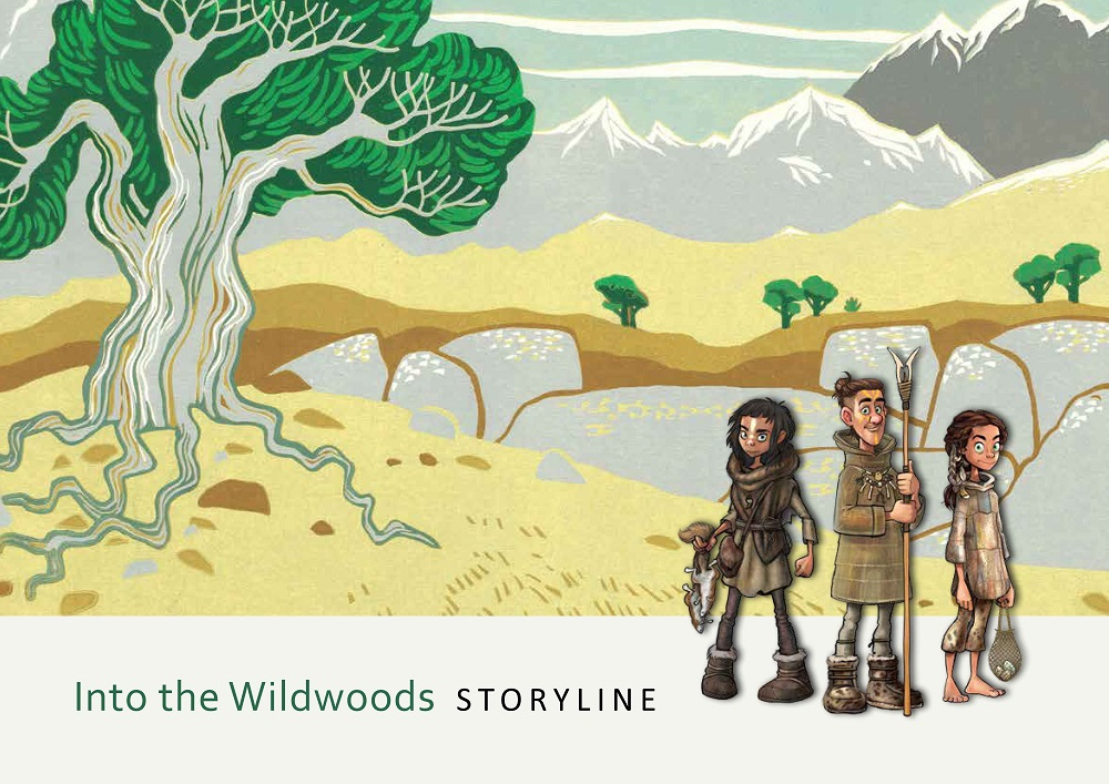 Into the Wildwoods Storyline booklet front cover