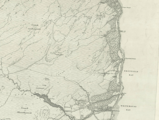 Inverneil map