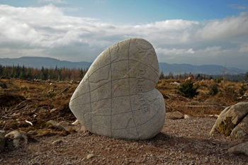 56f6bbd6d1f What are the 7 stanes? - Forestry and Land Scotland
