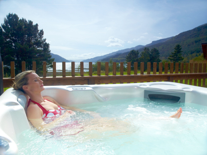 Argyll hot tub