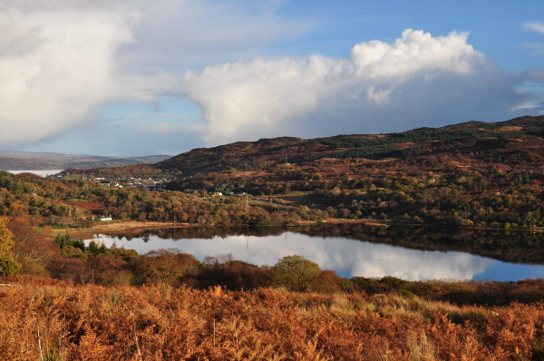 Pure West Media Tarbert autumn