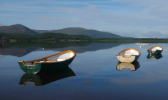 loch morlich with small boats