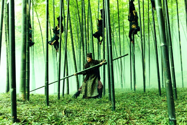 bamboo forest from house of flying daggers