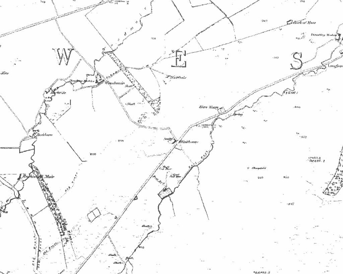 woodmuir map